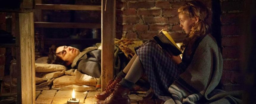 poster do Filme A Menina que Roubava Livros (The book Thief)2